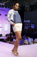 Model walking the Ramp at _Femina Festive Showcase May 2015_.7