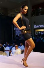 Model walking the Ramp at _Femina Festive Showcase May 2015_.9
