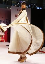 Model walking the Ramp at _Femina Festive Showcase May 2015_.