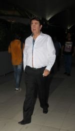 Randhir Kapoor snapped at domestic airport on 11th May 2015