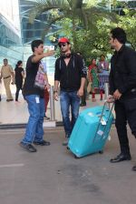 Sushant Singh Rajput snapped at domestic airport on 11th May 2015
