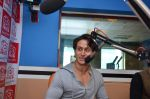 Tiger Shroff promotes music video Zindagi Aa Raha Hu Main at Red FM Studios on 11th May 2015