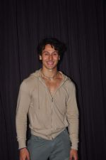 Tiger Shroff promotes his new movie Zindagi Aa Raha Hoon Main in Andheri, Mumbai on 12th May 2015