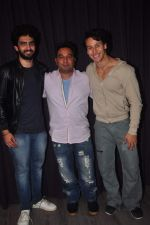 Tiger Shroff, Ahmed Khan, Amaal Mallik promotes his new movie Zindagi Aa Raha Hoon Main in Andheri, Mumbai on 12th May 2015