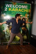 Jackky Bhagnani at Welcome to Karachi promotions in Honey Homes on 13th May 2015