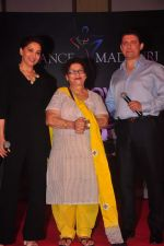 Madhuri Dixit, Saroj Khan, Shriram Nene at Dance with Madhuri in The Club on 13th May 2015