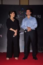 Madhuri Dixit, Shriram Nene at Dance with Madhuri in The Club on 13th May 2015