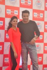 Sugandha Mishra, Krishna Abhishek at Big FM launches Garmi Ki Chutti in Mumbai on 13th may 2015 (32)_555438933ed0c.JPG