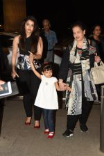 Aishwarya Rai Bachchan, Brinda Rai leave for Cannes Film Festival on 14th May 2015  (12)_5555b74883490.JPG
