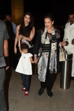 Aishwarya Rai Bachchan, Brinda Rai leave for Cannes Film Festival on 14th May 2015  (14)_5555b749bebfb.JPG