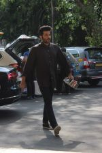 Anil Kapoor leaves for IIFA press meet in Mumbai Airport on 11th May 2015