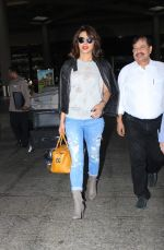 Priyanka Chopra returns from NY in Mumbai Airport on 11th May 2015