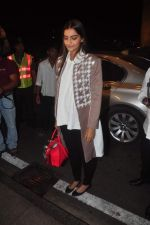 Sonam Kapoor leave for Cannes Film Festival on 14th May 2015