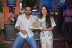 Jackky Bhagnani, Lauren Gottlieb at Welcome to Karachi promotions in Karachi Sweets, Bandra on 15th May 2015