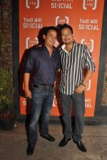 Keenan and Ryan Tham at the Launch of Todi Mill Social