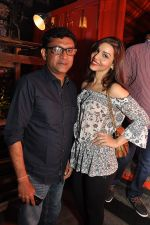 Ken Ghosh with Friend at the Launch of Todi Mill Social