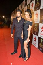 Asha Negi, Rithvik Dhanjani at Star Pariwar Awards in Mumbai on 17th May 2015 (157)_5559cae1d8101.JPG