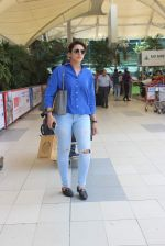 Huma Qureshi snapped at airport  on 17th May 2015
