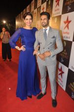 Karishma Tanna, Upen Patel at Star Pariwar Awards in Mumbai on 17th May 2015 (49)_5559cbb1753f7.JPG