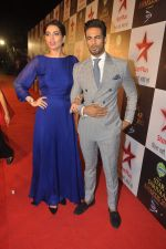 Karishma Tanna, Upen Patel at Star Pariwar Awards in Mumbai on 17th May 2015 (50)_5559cbb3187e2.JPG