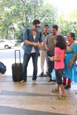 Zayed Khan snapped at airport  on 17th May 2015