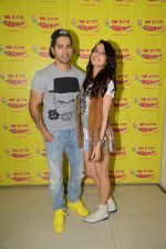 Varun Dhawan and Shraddha Kapoor on the sets of Radio Mirchi on 18th May 2015