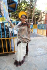 Asha Bhosle  at the recording of song Dehshat for Kripa Movies_ Lucknow Times directed by Sudipto Sen