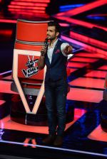 Karan Tacker at The Voice launch in Mumbai on 19th May 2015