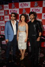 Mika Singh, Sunidhi Chauhan, Himesh Reshammiya at The Voice launch in Mumbai on 19th May 2015