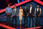 Mika Singh, Sunidhi Chauhan, Himesh Reshammiya, Karan Tacker at The Voice launch in Mumbai on 19th May 2015