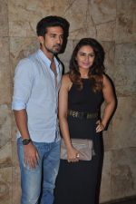 Huma Qureshi, Saqib Saleem at tanu weds manu 2 screening in Mumbai on 20th May 2015 (21)_555da00e16b5f.JPG