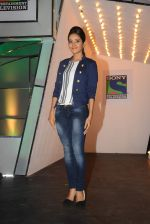 Asha Negi at the launch of Indian Idol Junior on 21st May 2015