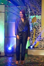 Sonakshi Sinha at the launch of Indian Idol Junior on 21st May 2015