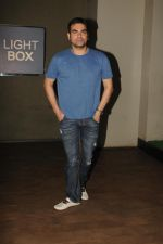 Arbaaz Khan at special screening of film Tanu Weds Manu Returns in Light Box, Mumbai on 21st May 2015