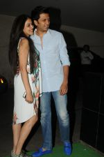 Genelia D Souza, Riteish Deshmukh at special screening of film Tanu Weds Manu returns in Light Box, Mumbai on 21st May 2015