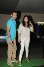 Sanjay Kapoor, Maheep Kapoor at special screening of film Tanu Weds Manu Returns in Light Box, Mumbai on 21st May 2015