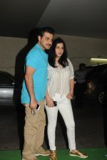 Sanjay Kapoor, Maheep Kapoor at special screening of film Tanu Weds Manu Returns in Light Box, Mumbai on 21st May 2015 (22)_55606a43bc6ba.JPG