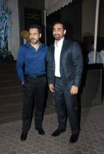Emraan Hashmi, Kunal Deshmukh at director Vishal Mahadkar_s wedding reception in Mumbai on 23rd May 2015 (29)_5561af41a2a23.JPG