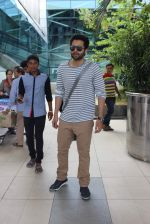 Jackky Bhagnani snapped at airport  on 24th May 2015