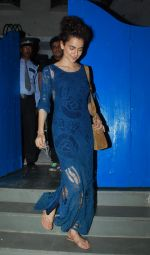 Kangana snapped at Nido in Mumbai on 24th May 2015
