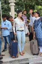 Prachi Desai snapped at airport  on 24th May 2015