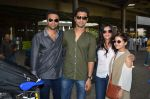 Richa Chadda snapped with her film team of Massan back from Cannes on 25th May 2015