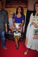 Tannishtha Chatterjee at Gour Hari Daastan film launch in Cinemax, Mumbai on 25th May 2015