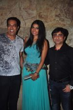 Vindu Dara Singh, Priyanka Shah at I love Desi film screening in Lightbox, Mumbai on 26th May 2015 (15)_5565b2e5646cb.JPG