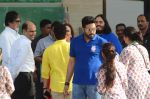 Abhishek bachchan at the launch of Reliance Foundations Jio Gardens and organises Young Champs Football match on 27th May 2015