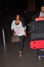 Arpita Khan snapped at Airport on 27th May 2015