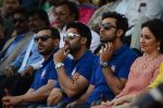 John Abraham, Abhishek Bachchan, Ranbir Kapoor at the launch of Reliance Foundations Jio Gardens and organises Young Champs Football match on 27th May 2015