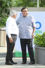 Mukesh Ambani at the launch of Reliance Foundations Jio Gardens and organises Young Champs Football match on 27th May 2015