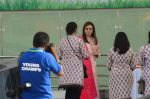 Nita Ambani at the launch of Reliance Foundations Jio Gardens and organises Young Champs Football match on 27th May 2015