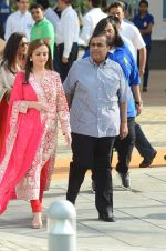 Nita Ambani, Mukesh Ambani at the launch of Reliance Foundations Jio Gardens and organises Young Champs Football match on 27th May 2015 (63)_5566e781cfb5f.JPG
